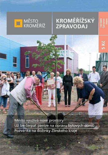 Vydání - 7 - 8 / 2009 - Město Kroměříž