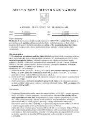 Návrh Dodatku č. 3 k VZN č. 7/2010 o určení výšky dotácie na žiaka ...
