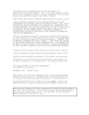This Etext file is presented by Project Gutenberg, in - Planolibraries.org
