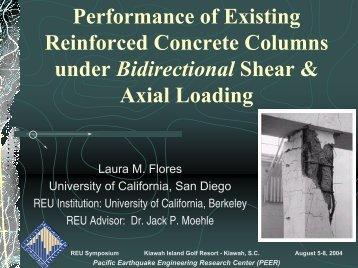 Reinforced Concrete Columns - MCEER