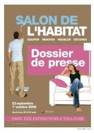 HABITAT 2006 – PAGE 1 - Parc des Expositions de Toulouse