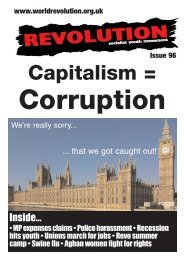 Capitalism = - Revolution Socialist Youth