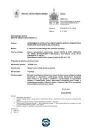 Usklajeni predlog odloka o spremembah in dopolnitvah Odloka o ...