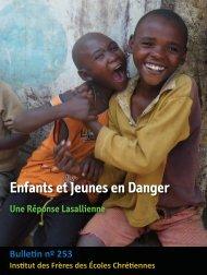 Enfants et Jeunes en Danger Une Réponse Lasallienne