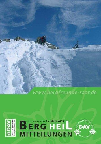 BERG HEIL - Bergfreunde-Saar