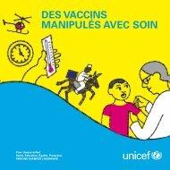Des Vaccins: Manipules avec soin - PATH