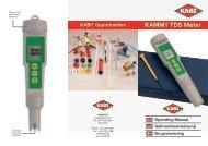 KAMM1 TDS Meter - KABI
