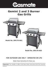 Gemini 2 And 3 Burner – Gas Grills FOR OUTDOOR ... - Aber.co.nz