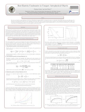 Bose-Einstein Condensates in Compact Astrophysical Objects