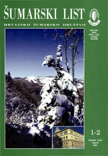 ÅUMARSKI LIST 1-2/2001 - HÅD