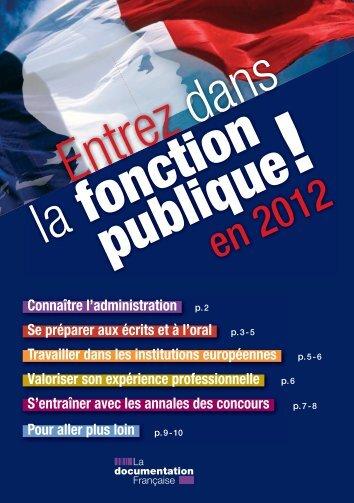 Cata Entrez Fonct BDC 2012.indd - L'Etudiant