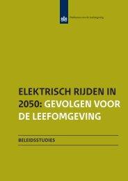 Elektrisch rijden in 2050 - Planbureau voor de Leefomgeving