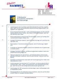 16 Sicherheit und Komfort (2 Seiten) - Elektro Hammes GmbH