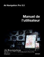 Air Navigation Pro 5.3 Manuel de l'utilisateur - Xample