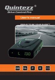 Drive Control Pro manual GB - Quintezz
