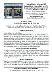 Jahresbericht 2012 - Evangelischer Kirchenkreis Berlin-Schöneberg