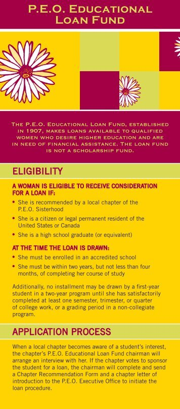 student education loan fund