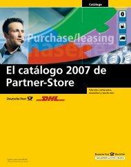 El catálogo 2007 de Partner-Store