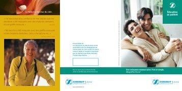 CE Brochure Template - Zimmer Dental