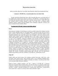 Doporučená stanoviska k novému stavebnímu zákonu - 6.6.200…