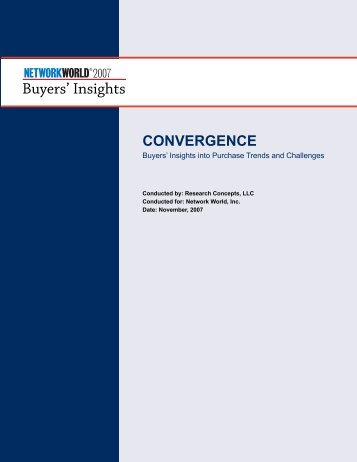 Convergence - Network World