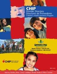 Provider Directory Directorio de Proveedores - Community First ...