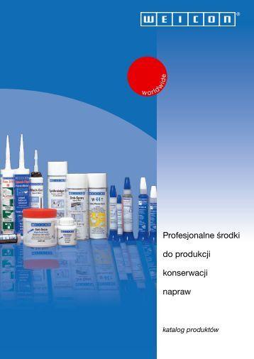 Katalog produktów WEICON (pdf)