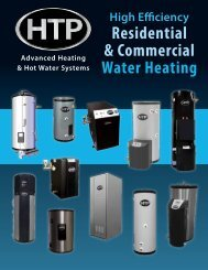 Res & Com Water Heating - Heat Transfer Products, Inc
