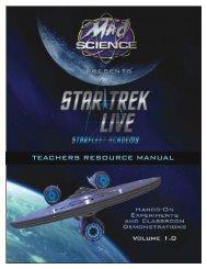 STAR TREK LIVE! - Ontario Science Centre