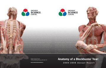 Annual Report - Ontario Science Centre