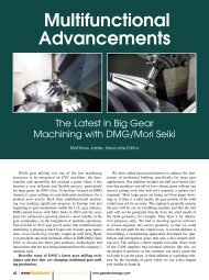 Multifunctional Advancements - Gear Technology magazine