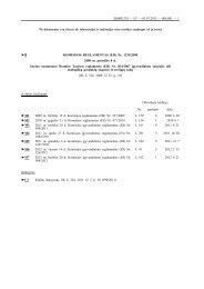 B KOMISIJOS REGLAMENTAS (EB) Nr. 1235/2008 ... - EKOagros