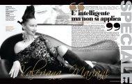 Donna Impresa Magazine SPECIALE DONNE: E' intelligente, ma non si applica Valeriana Mariani