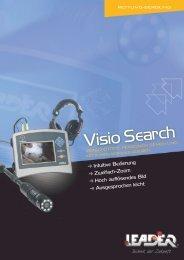 Broschüre Visiosearch - Leader GmbH