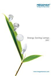Energy Saving Lamps - Hotel Designs