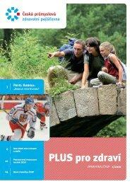 Zpravodaj ČPZP 1/2010 - Česká průmyslová zdravotní pojišťovna