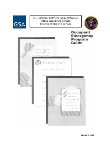Checklist 6e building coordinators floor monitors for Occupant emergency plan template
