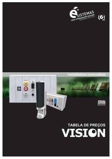 Tabela Acessórios Vision - Esistemas