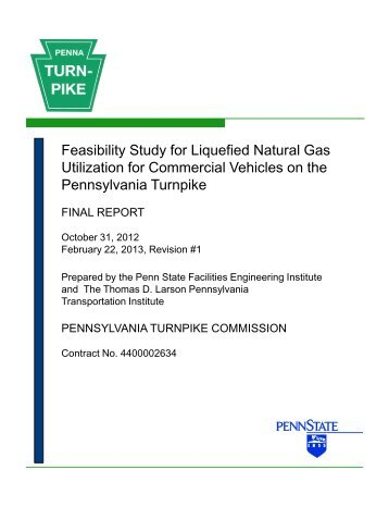 Feasibility Study for Liquefied Natural Gas Utilization for Commercial ...