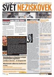 Svět neziskovek 11/2010 - Neziskovky