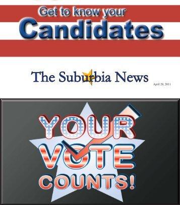 The Suburbia News April 28, 2011