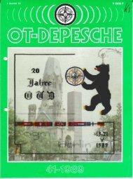 I. Quartal '89 - Old-Tablers Deutschland