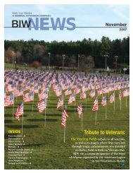 Tribute to Veterans - Bath Iron Works