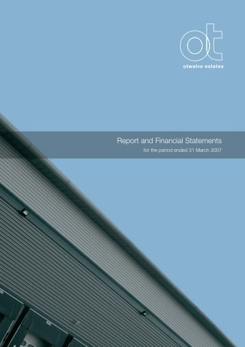 Report and Financial Statements - EPRA