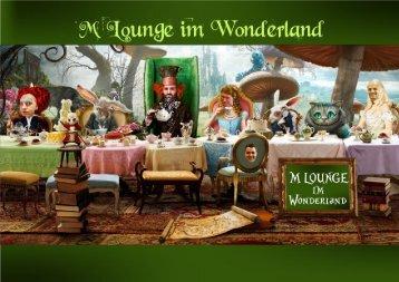 M Lounge im Wonderland