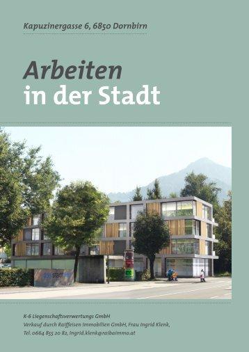 Arbeiten in der Stadt - Panorama Wohnbau GmbH