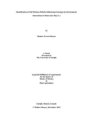 Final Thesis Mathew Hooyer 2012a.pdf - Atrium - University of Guelph