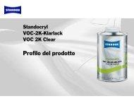 Presentazione prodotto - Standox