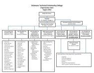 administration organizational chart - Delaware Technical ...