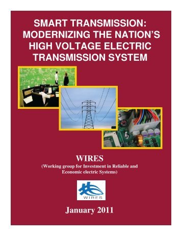 WIRES Smart Transmission Report January 2011 - CapX2020
